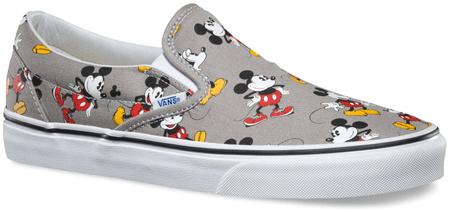 3ed126527d7 Vans U Classic Slip-On Disney Mickey Mouse 36