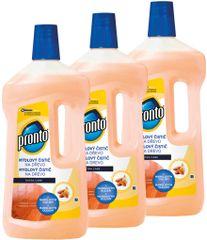 Pronto Mýdlový čistič na drevo Extra ochrana 3x750 ml