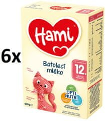 Hami 12+ 6 x 600g