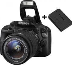 Canon EOS 100D + 18-55 mm IS STM + náhradný originálny akumulátor LP-E12 ZADARMO!