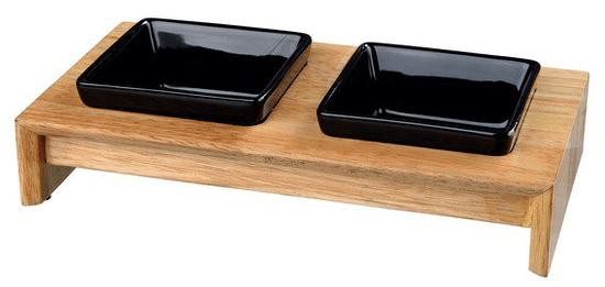 Trixie Keramické misky v dreve 2 x 0,4 / 13cm
