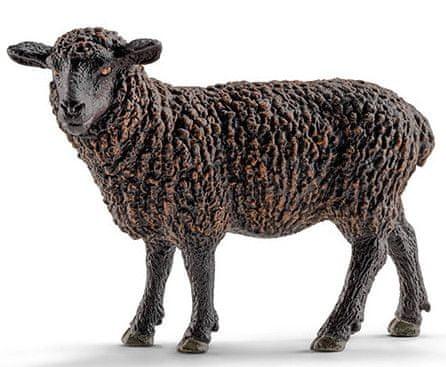 Schleich ovca, črna