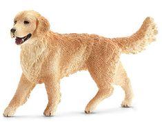 Schleich Figurka psa Golden Retriever