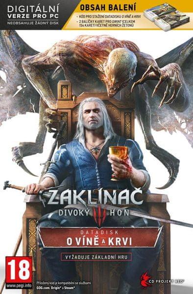 CD PROJEKT Zaklínač 3: Divoký hon - O Víně a krvi Limited edition/ PC
