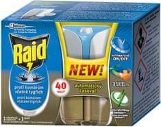 Raid Advanced elektrický proti komárom s tekutou náplňou