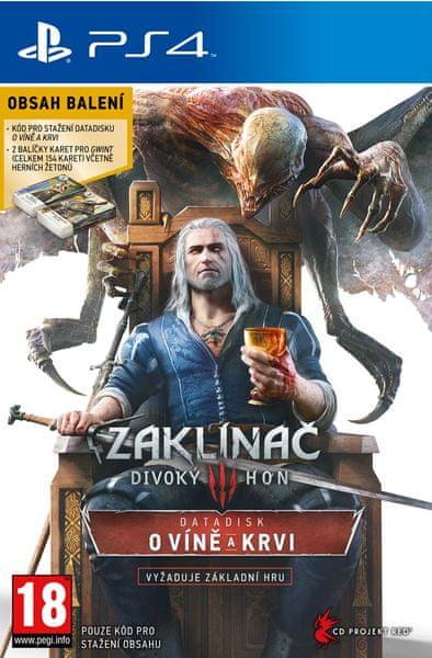 CD PROJEKT Zaklínač 3: Divoký hon - O Víně a krvi Limited edition / PS4
