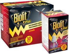 Biolit Plus elektrický proti komárom, muchám s tekutou náplňou 2 x 30 nocí