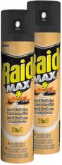 Raid sprej proti lezúcemu hmyzu 2x400 ml
