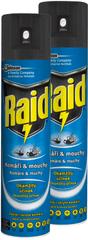 Raid sprej proti létajícímu hmyzu 2x400 ml