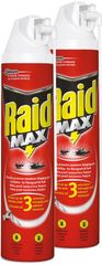 SC Johnson Raid Max pěna proti lezoucímu hmyzu 2x400 ml