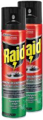 SC Johnson Raid sprej proti lezoucímu hmyzu s eukalyptovým olejem 2x400 ml