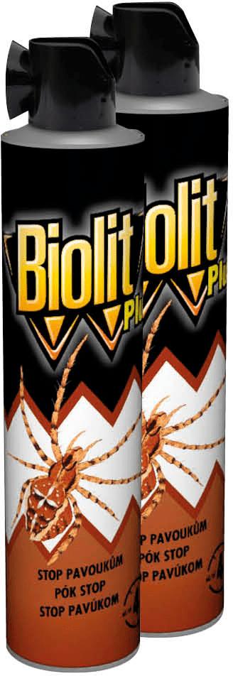 Biolit Plus sprej Stop pavoukům 2x400 ml