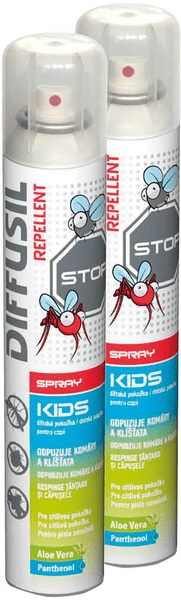 DIFFUSIL Repelent Kids 2x100 ml