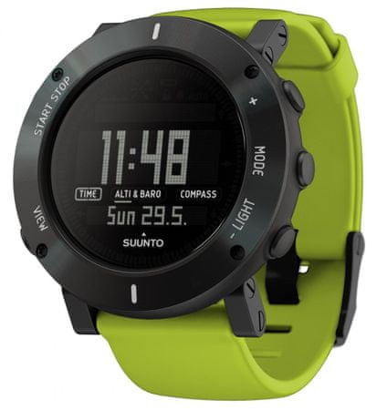 Suunto športna ura Core Lime Crush