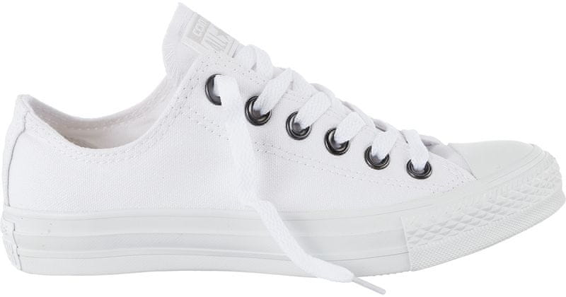 Converse Chuck Taylor All Star Canvas Ox white mono 48