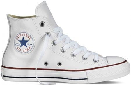 86b267c56927 Converse Chuck Taylor All Star Leather Hi Tornacipő, Fehér, 45 | MALL.HU