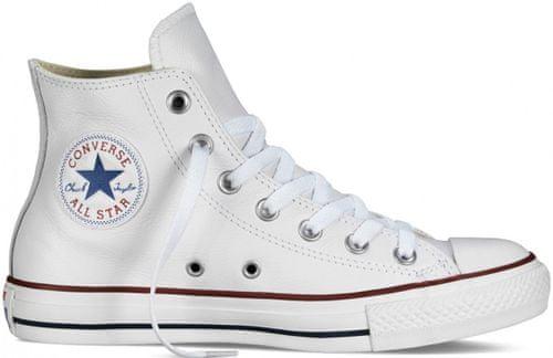 99e3da72a18e Converse Chuck Taylor All Star Leather Hi Tornacipő, Fehér, 45 | MALL.HU