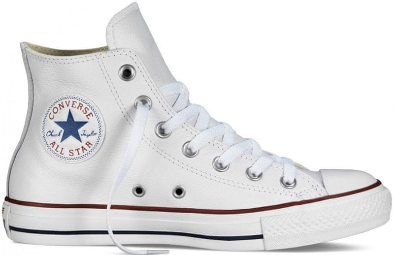 Converse Chuck Taylor All Star Leather Hi optical white 36