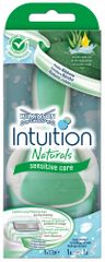Wilkinson Sword Intuition Naturals Sensitive holicí strojek + 1 hlavice