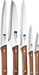 BERGNER Sada 5 nožov NATURE