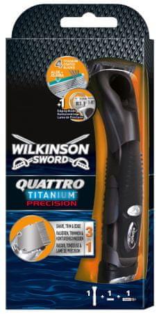 Wilkinson Sword brivnik Quattro Titanium Precision