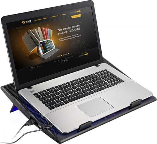 Yenkee Chladicí podložka pod notebook (YSN 120)