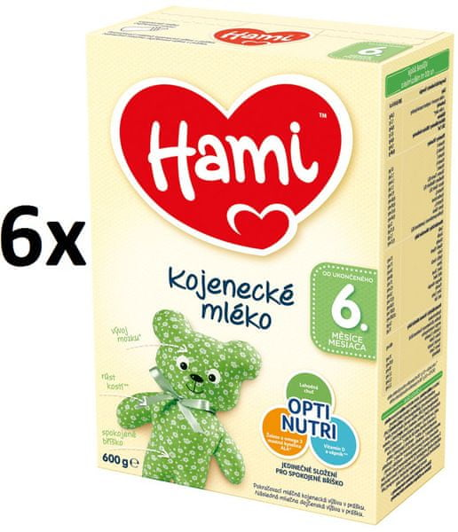 Hami 6+ 6 x 600 g