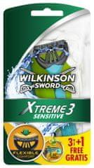 Wilkinson Sword Xtreme3 Sensitive jednorazový holiaci strojček 4 ks