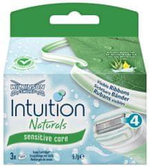 Wilkinson Sword Intuition Naturals Sensitive Náhradní hlavice 4ks