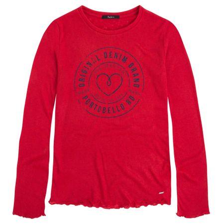 Pepe Jeans ženska majica Becca M rdeča