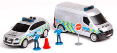 DICKIE Zestaw Policja, 2 pojazdy + akcesoria