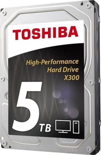 "TOSHIBA X300 5TB / interní / SATA III / 3,5"" / 7200 rpm (HDWE150EZSTA)"