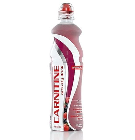 Nutrend Carnitín drink s kofeínom - mix berry 1x750 ml