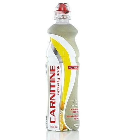 Nutrend Carnitín drink s kofeínom - citrón 1x750 ml