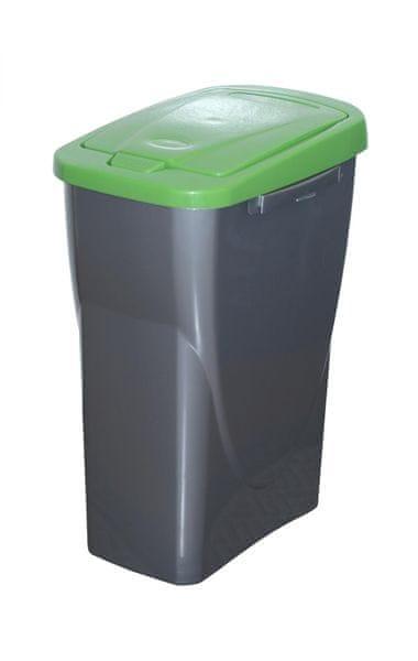 Mazzei Koš na tříděný odpad Ecobin 15 l zelená