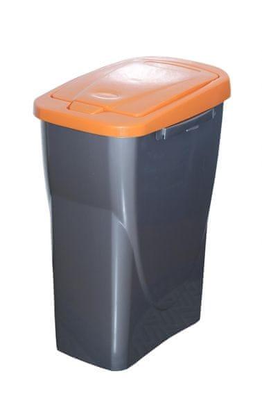 Mazzei Koš na tříděný odpad Ecobin 15 l oranžová