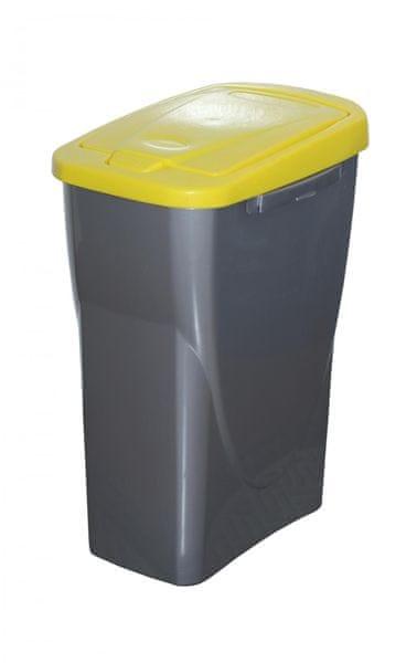 Mazzei Koš na tříděný odpad Ecobin 15 l žlutá