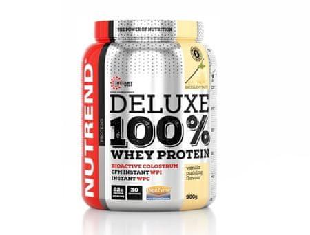 Nutrend Deluxe 100% whey - pudingová vanilka 1x900 g