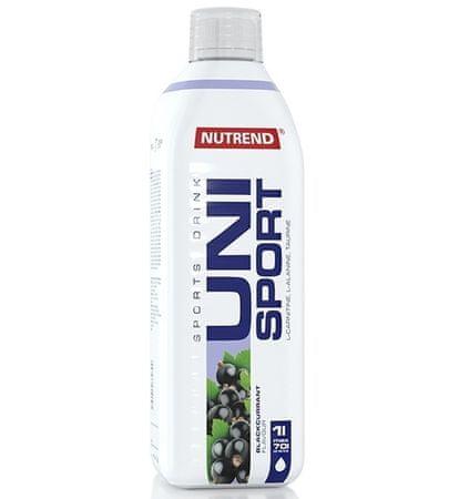 Nutrend Unisport - čierna ríbezľa športový nápoj, 1x1000 ml