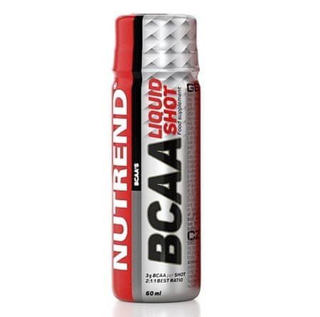 Nutrend Bcaa liquid shot aminokyseliny, 20x60 ml
