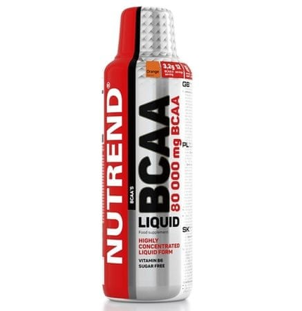 Nutrend Bcaa liquid aminokyseliny, 1x1000 ml