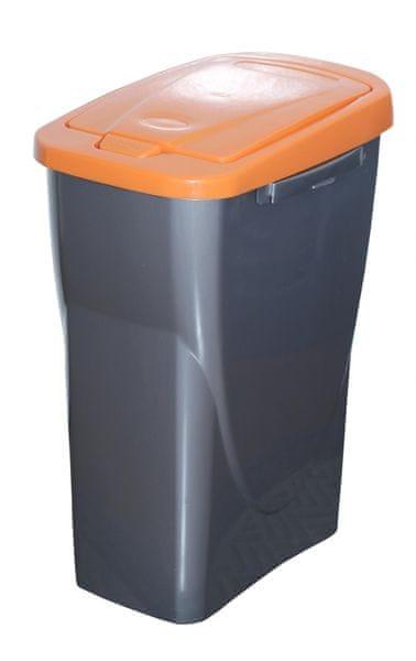 Mazzei Koš na tříděný odpad Ecobin 25 l oranžová