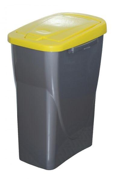 Mazzei Koš na tříděný odpad Ecobin 25 l žlutá