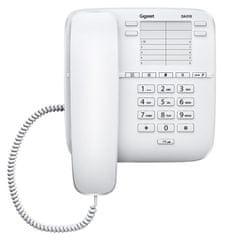 Gigaset telefon stacjonarny DA310, biały