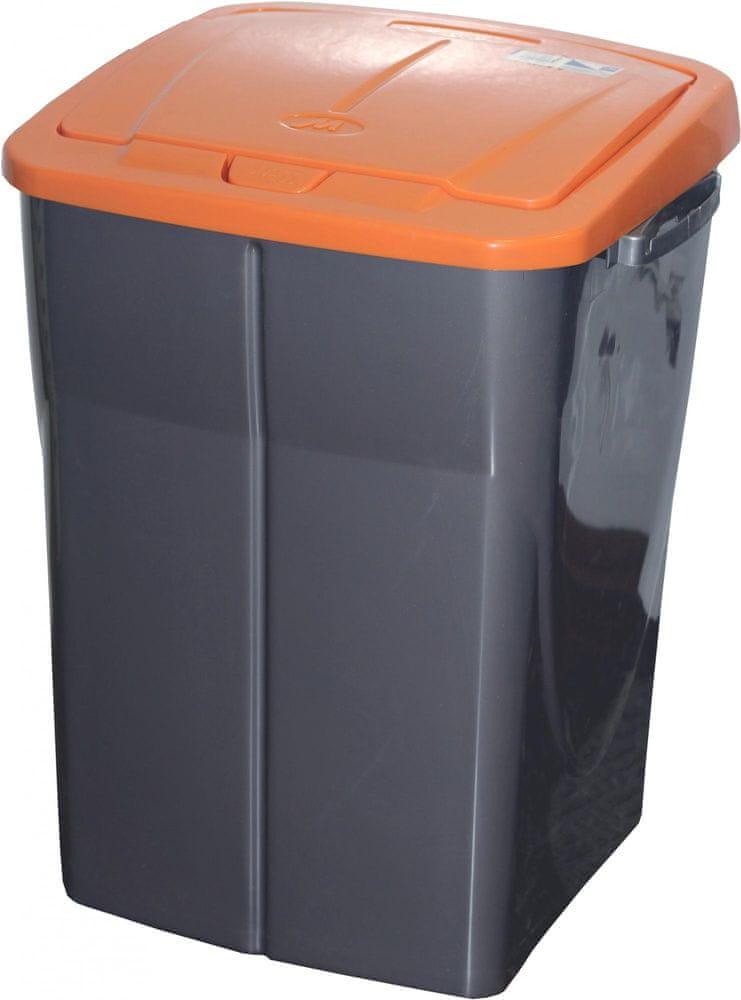 Mazzei Koš na třídění odpadu 45 l oranžová