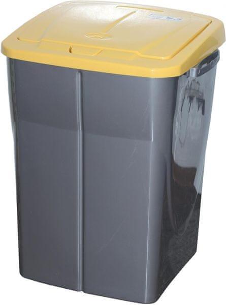 Mazzei Koš na třídění odpadu 45 l žlutá