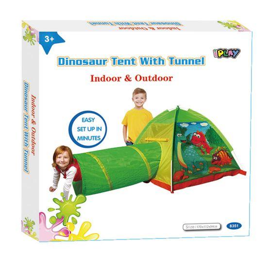 iPlay šotor s tunelom Dino
