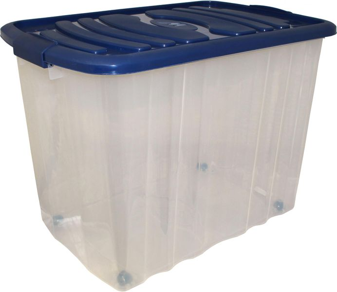 Mazzei Úložný box na kolečkách Big Roll 65 l modrá