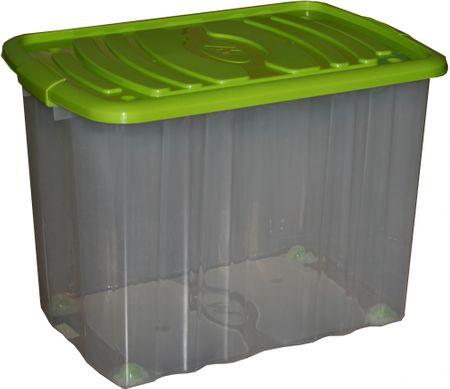 Mazzei Úložný box na kolieskach  Big Roll 65 l zelená
