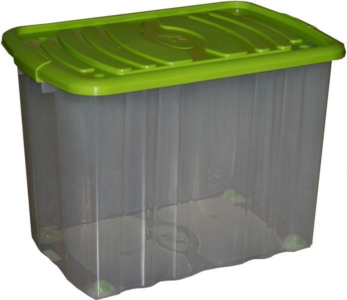 Mazzei Úložný box na kolečkách Big Roll 65 l zelená